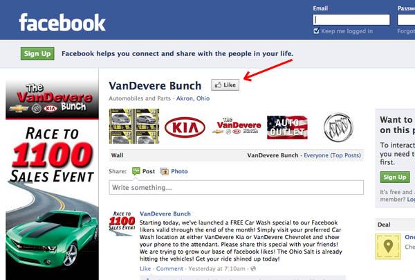 Facebook Fan Thank You The Bunch Blog