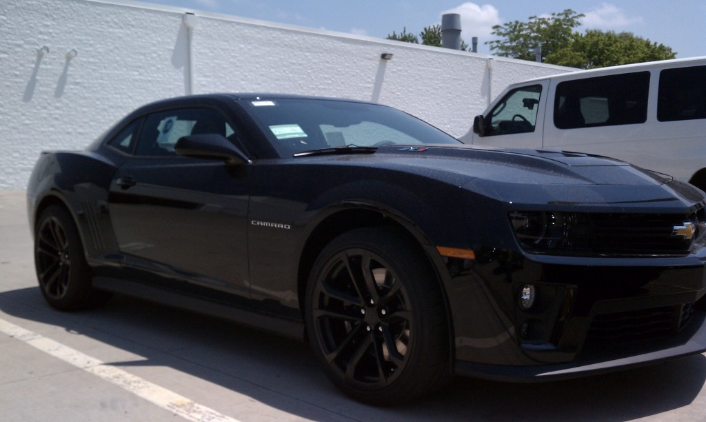 First Camaro Zl1 Showing Up On Our Lot The Bunch Blog