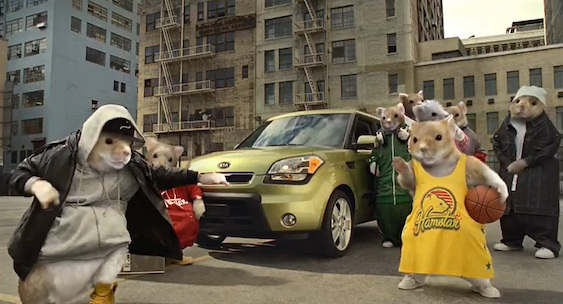 kia hamsters will return for more kia soul ads the bunch blog. Black Bedroom Furniture Sets. Home Design Ideas