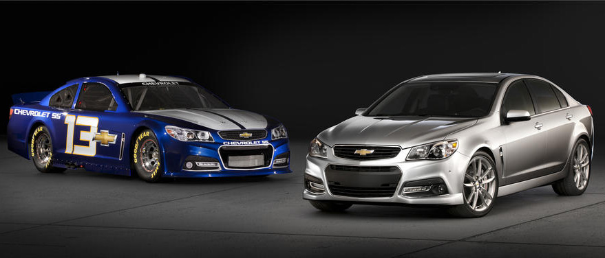 Chevy SS Nascar and Production Car