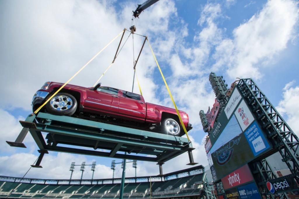 2014 Chevrolet Silverado Detroit Tigers VanDevere Chevy Akron Ohio