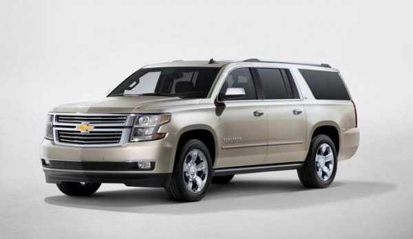 All New 2015 Chevrolet Suburban Tahoe Will Be Available From VanDevere Chevrolet In Akron Ohio