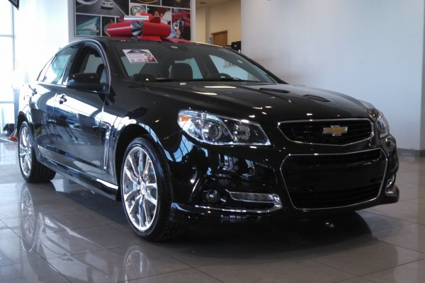 2014 Chevy Chevrolet SS Sedan at VanDevere Chevrolet in Akron Ohio 1