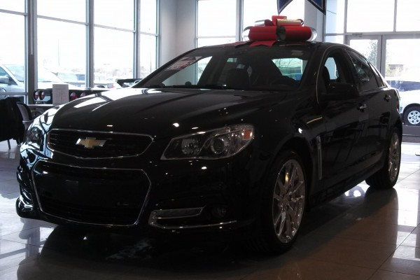 2014 Chevy Chevrolet SS Sedan at VanDevere Chevrolet in Akron Ohio 2