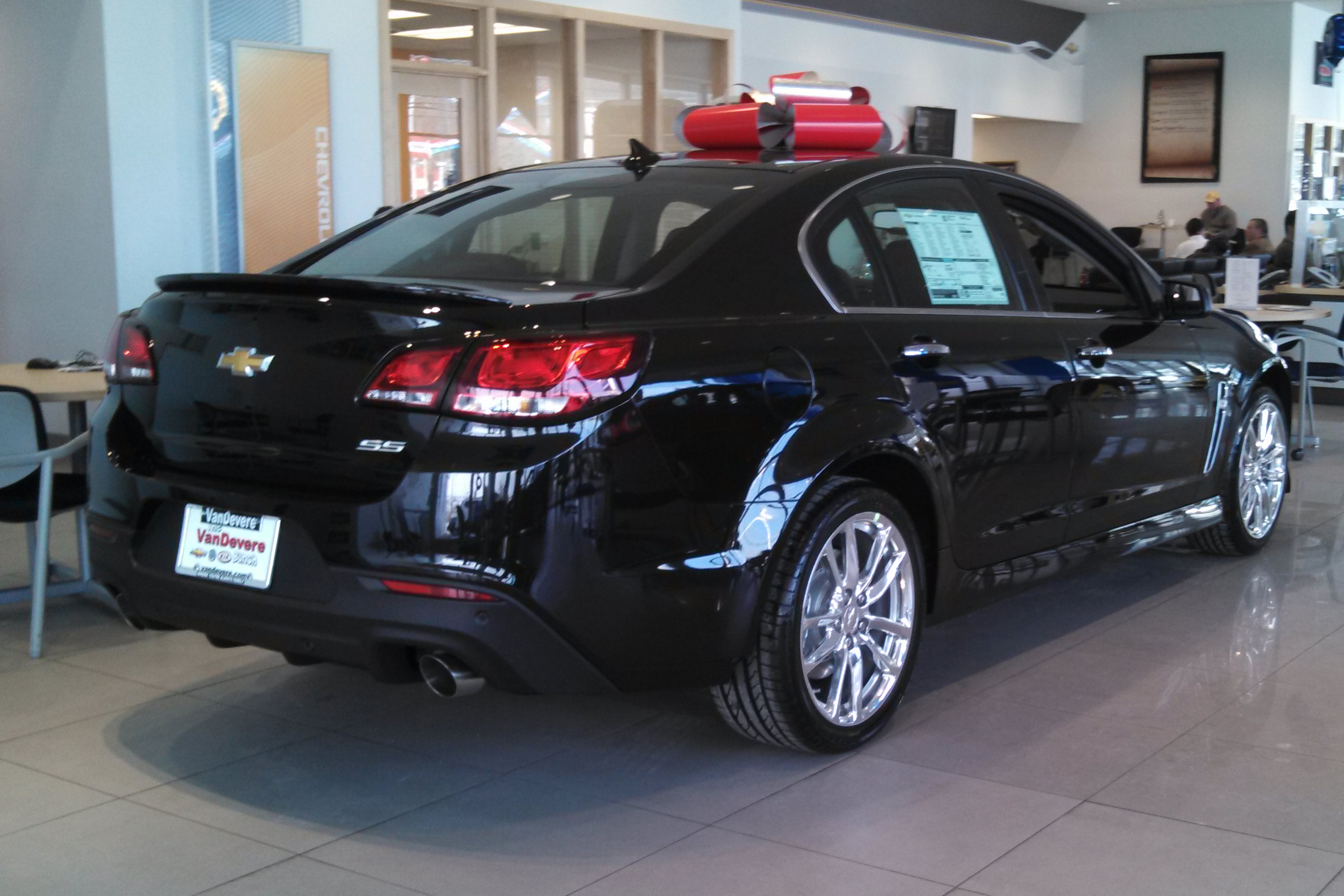 2014 Chevy Chevrolet SS Sedan at VanDevere Chevrolet in Akron Ohio