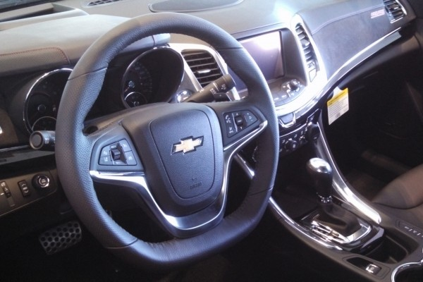 2014 Chevy Chevrolet SS Sedan at VanDevere Chevrolet in Akron Ohio 6