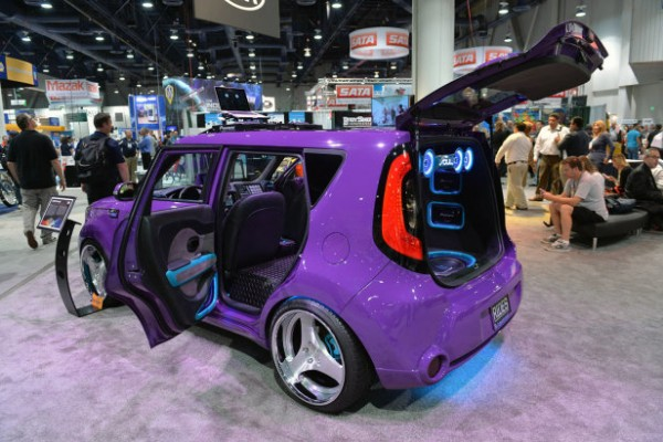 Music Themed Kia Souls Sema Auto Show The Bunch Blog
