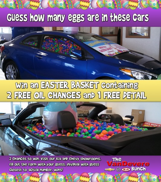 Win A Free Detail And 2 Free Oil Changes From The