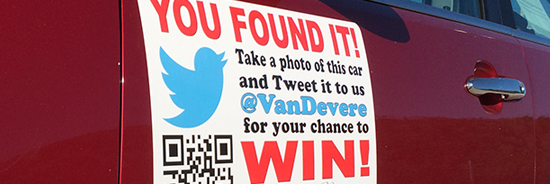 VanDevere You Found It Twitter Game Find Out More Here