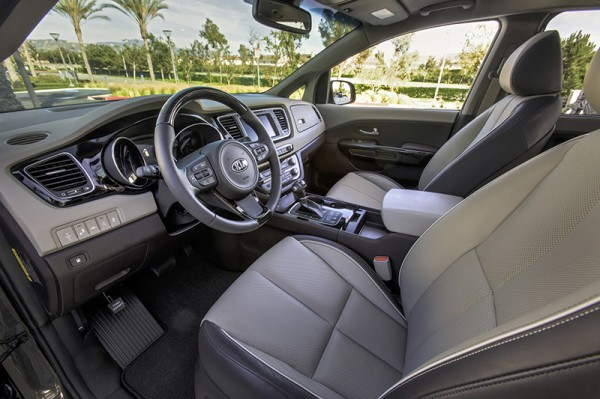 2015 Kia Sedona Interior Among 10 Best - Get Your Kia Sedona At VanDevere In Akron Ohio