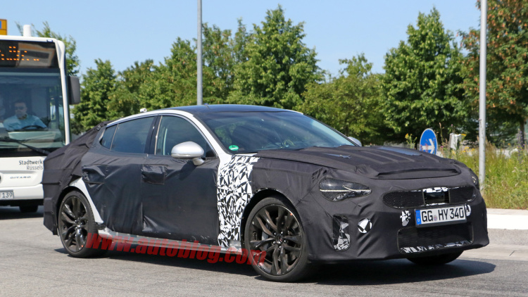 Kia GT Spy Shot