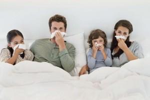 familywiththeflue